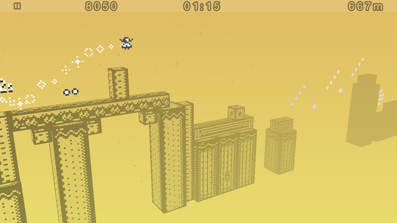 1-bit Ninja Remix Rush screenshot