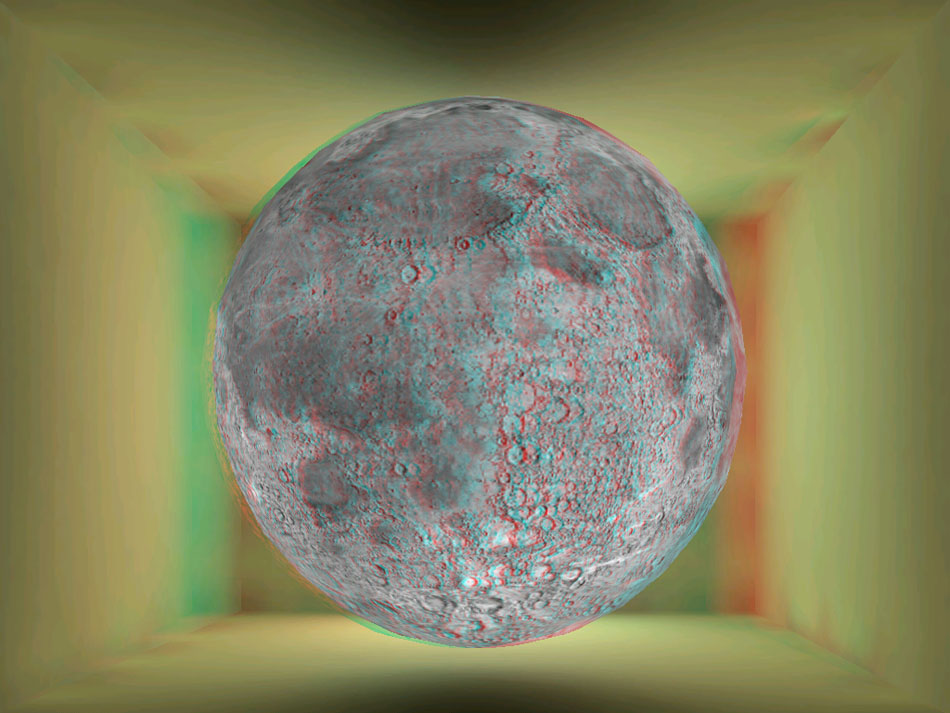 HoloToy Anaglyph Moon